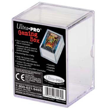 Ultra Pro: 2 Piece Deck Box 100 ct
