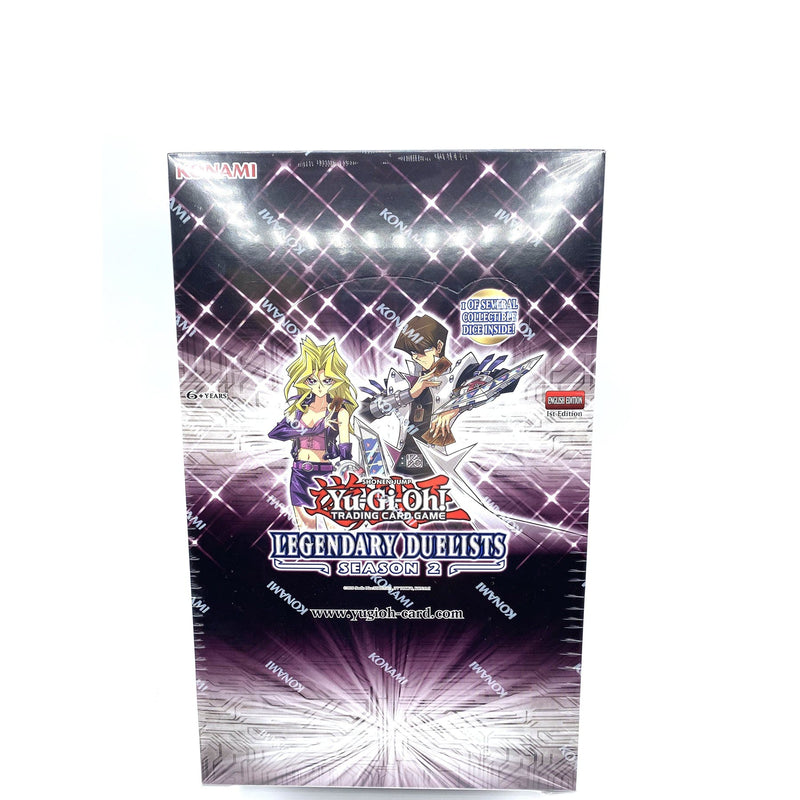Yu-Gi-Oh: Legendary Duelists 1st Edition Season 2 Sealed Display Box