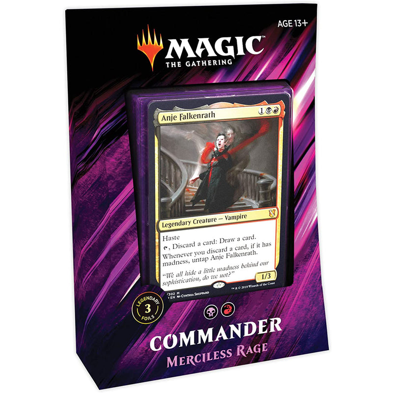 Magic the Gathering: 2019 Commander - Merciless Rage