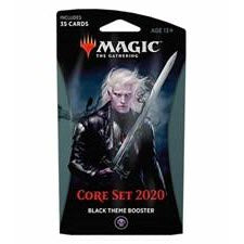 Magic the Gathering: Core Set 2020 Black Theme Booster