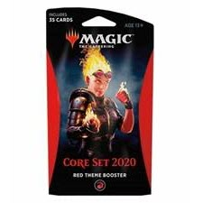 Magic the Gathering: Core Set 2020 Red Theme Booster