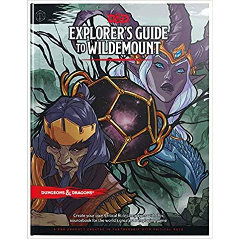 Dungeons & Dragons 5th Edition: Explorer's Guide to Wildemount (Hardcover)