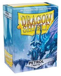 Dragon Shield Matte Sleeves - Petrol (100-Pack)