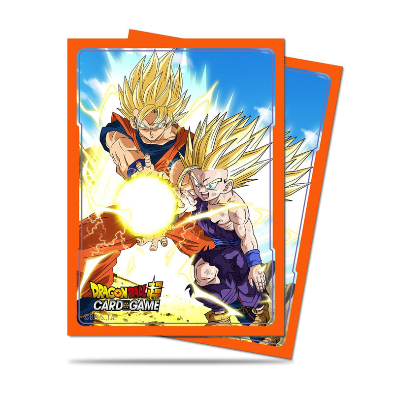 Ultra Pro: Dragon Ball Super Deck Protector 65ct - Father Son Kamehameha