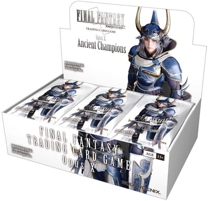 Final Fantasy: Opus X: Ancient Champions Booster Box