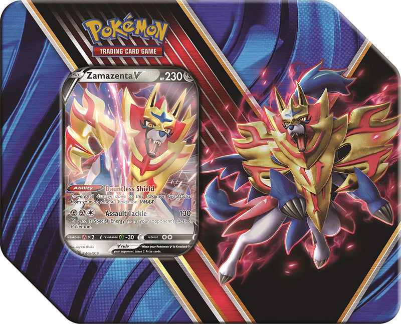 Pokemon TCG: Legends of Galar Tin - Zamazenta V