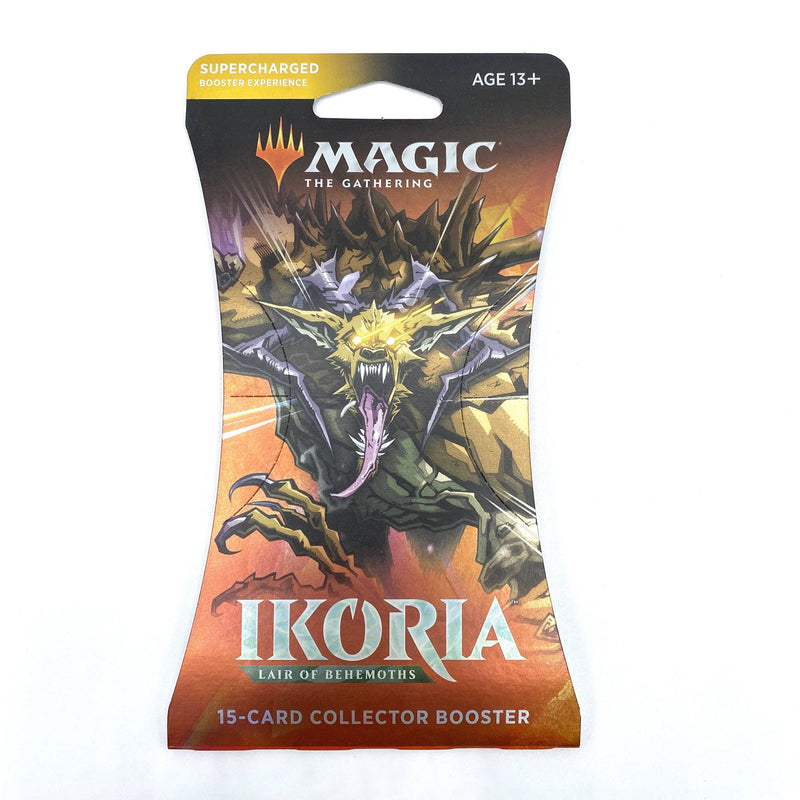 Magic the Gathering: Ikoria-Lair of Behemoths Sleeved Collector Booster Pack