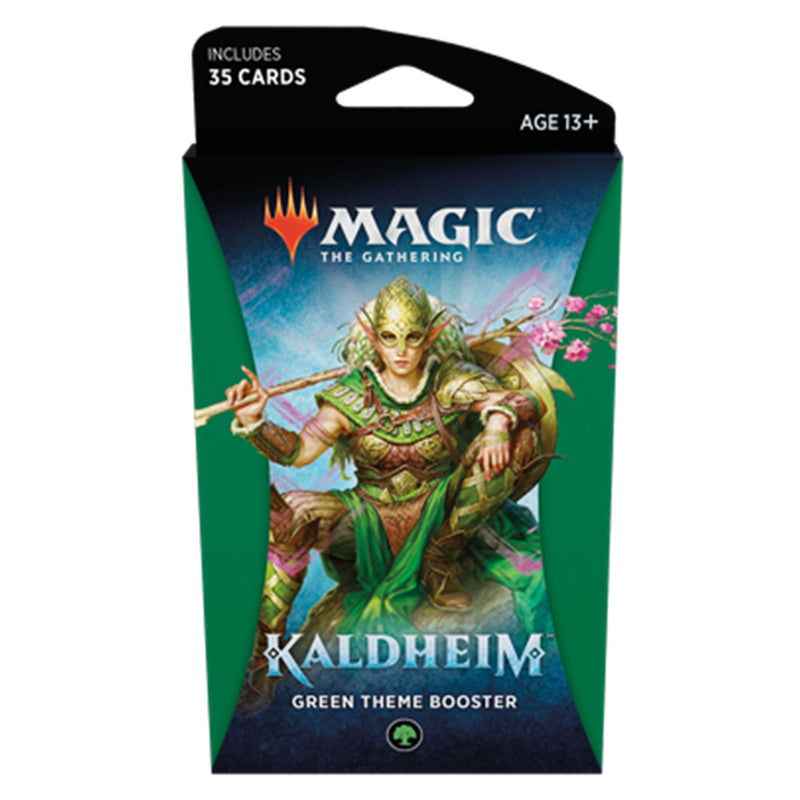 Magic the Gathering: Kaldheim Green Theme Booster