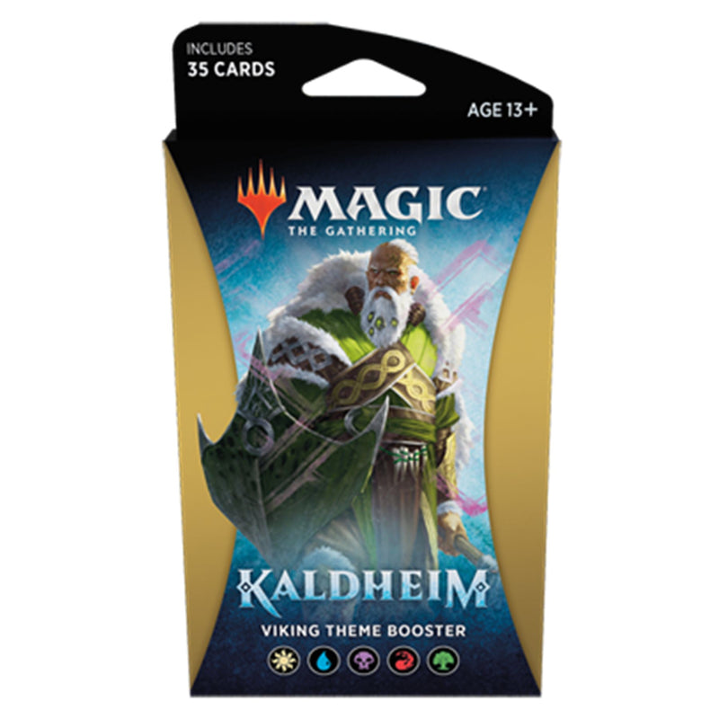 Magic the Gathering: Kaldheim Viking Theme Booster