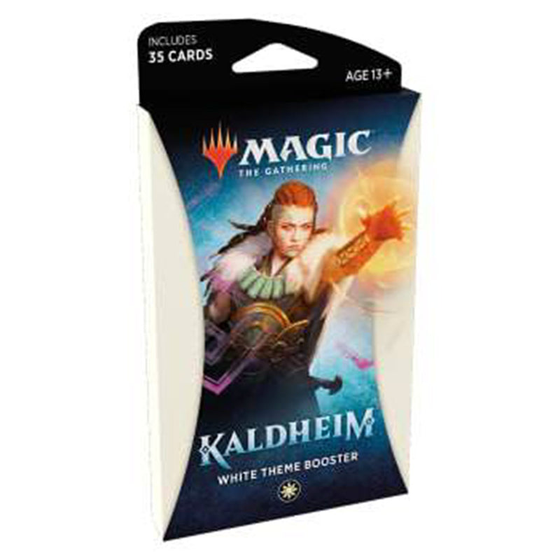 Magic the Gathering: Kaldheim White Theme Booster