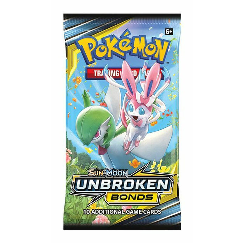 Pokemon TCG: Sun & Moon Unbroken Bonds Booster Pack