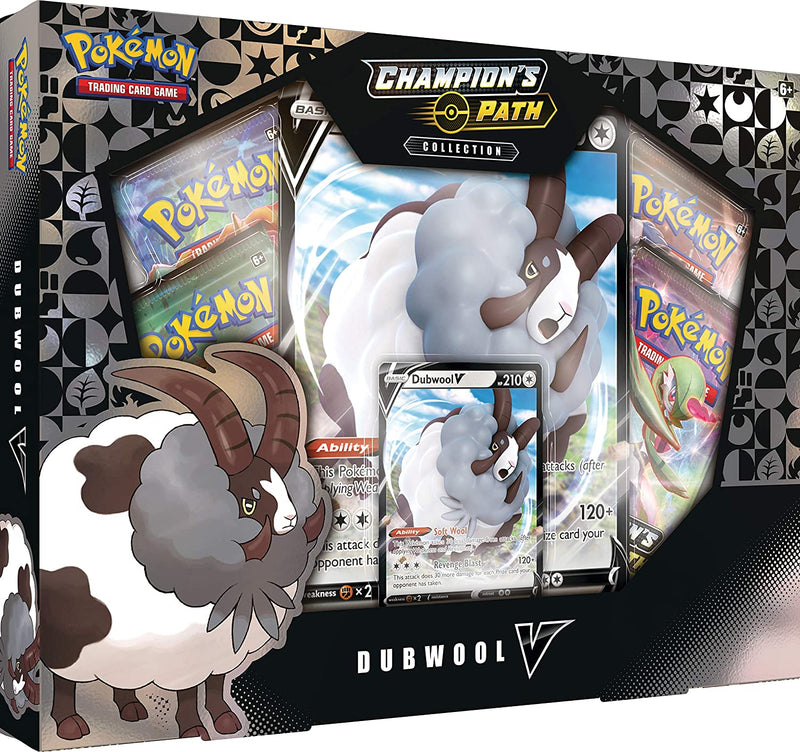 Pokemon TCG: Champion's Path Dubwool V Box
