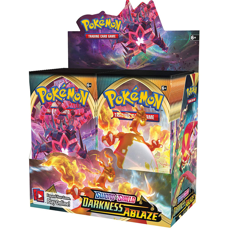 Pokemon TCG: Sword & Shield Darkness Ablaze Booster Box
