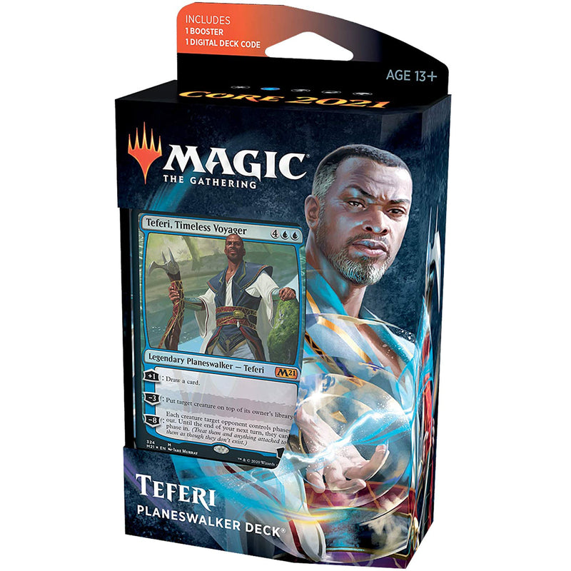 Magic the Gathering: Core 2021 Planeswalker Deck-Teferi