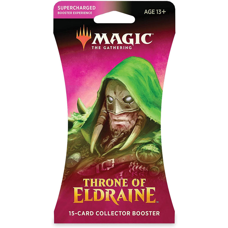 Magic the Gathering: Throne of Eldraine Sleeved Collector Booster Pack