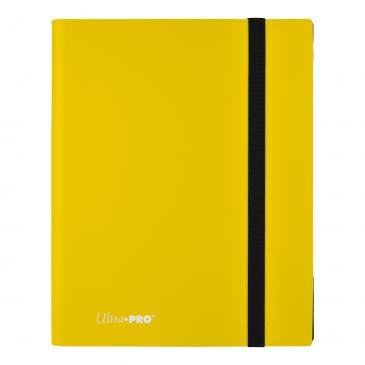 Ultra Pro: 9 Pocket Pro-Binder - Lemon Yellow
