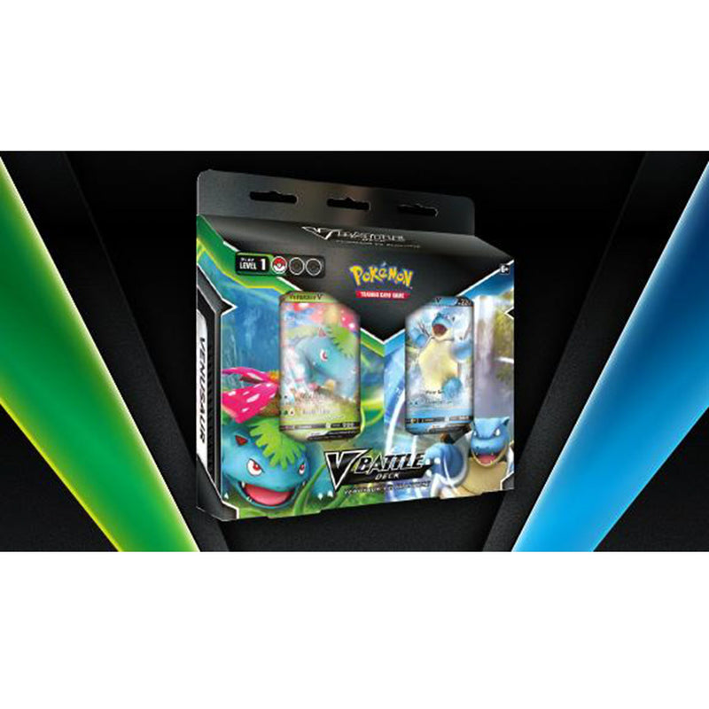 Pokemon TCG: V Battle Deck - Venusaur vs. Blastoise