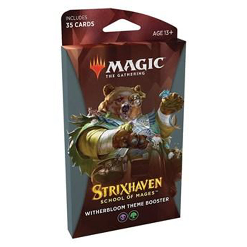 Magic the Gathering: Strixhaven - School of Mages Theme Booster - Witherbloom