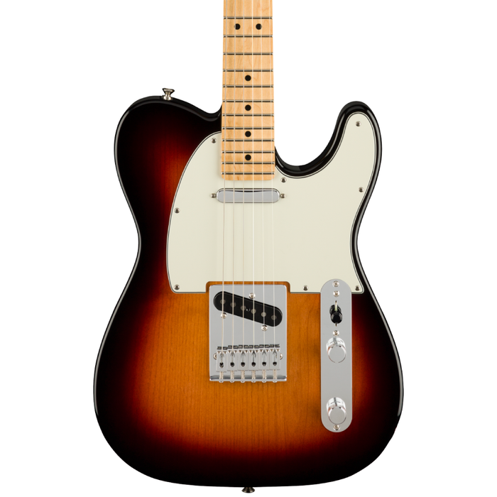 Guitarra Eléctrica Fender Player Telecaster con mástil de Maple- 3 Tone Sunburst
