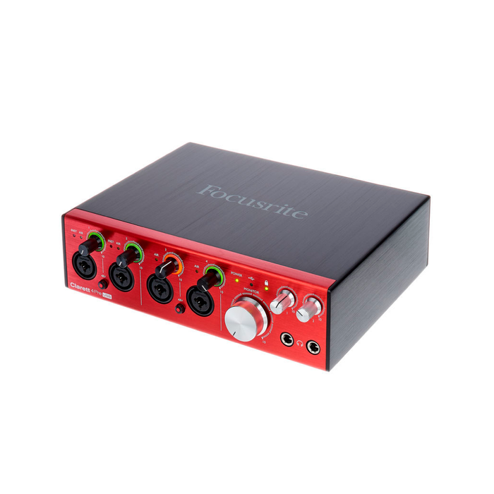Interfaz de Audio Focusrite Clarett 4Pre Usb