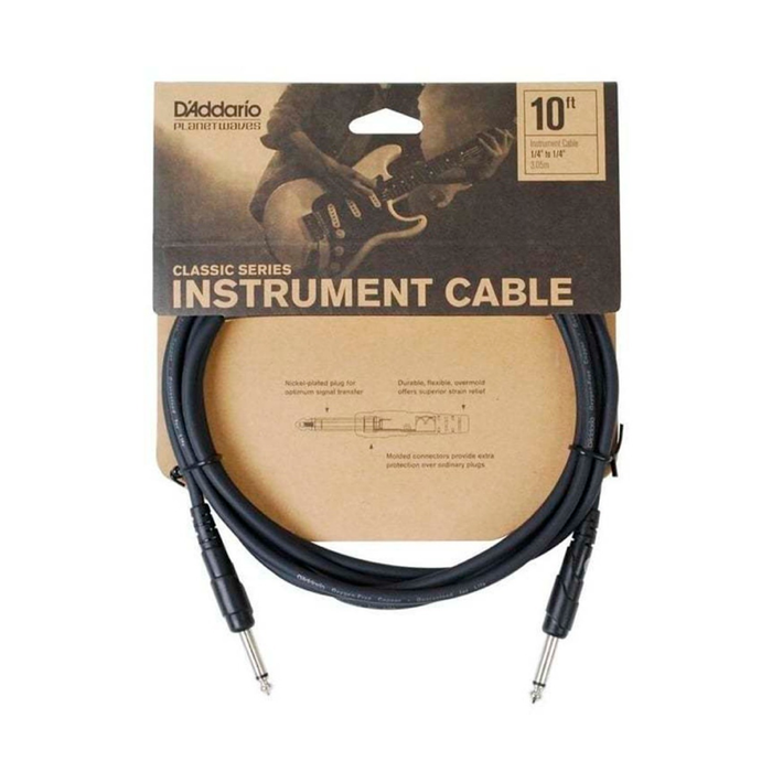 "Cable Conexión Planet Waves PW-CGT-10 10' Classic Series 1/4"" Inst Cable- 3 Mtrs"