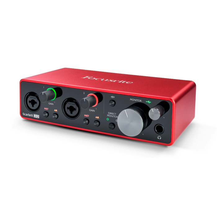 Interfaz de Audio Focusrite Scarlett 2I2 (3Ra Gen)