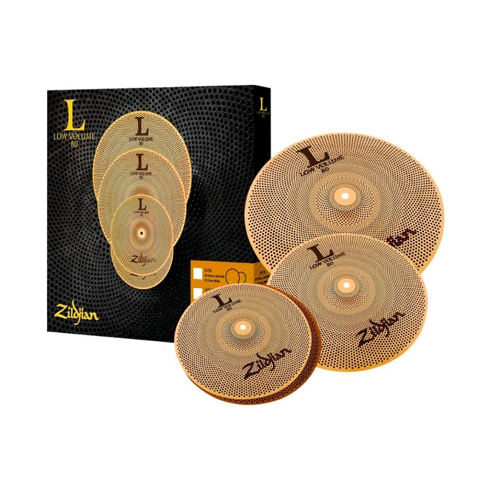 Pack de Platillos Zildjian Low Volume 13H, 14C, 18R