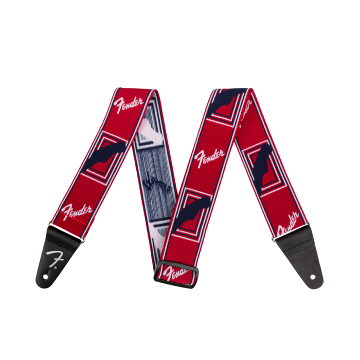 "Correa Fender Weighless™ 2"" Monogrammed, Red/White/Blue"