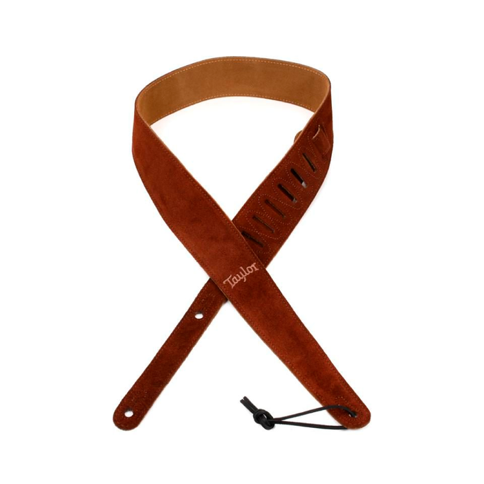 Correa para guitarra Taylor Embroidered Brown