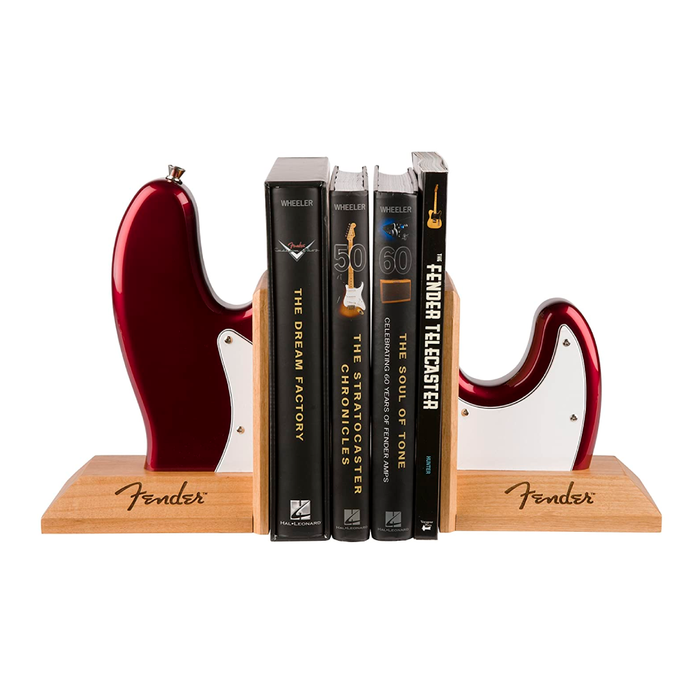 Soporte para Libros Fender Bookends Bass Red