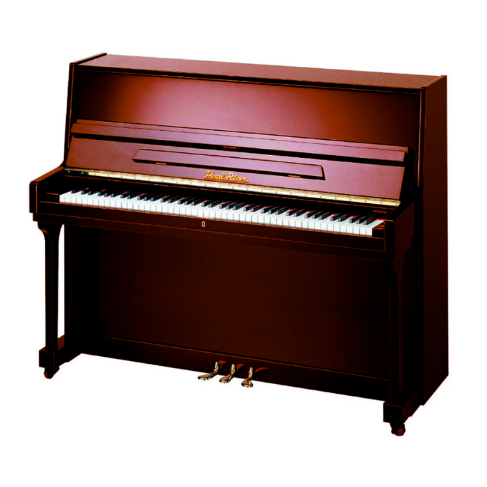 Piano Vertical Pearl River UP115M2 Polish Walnut
