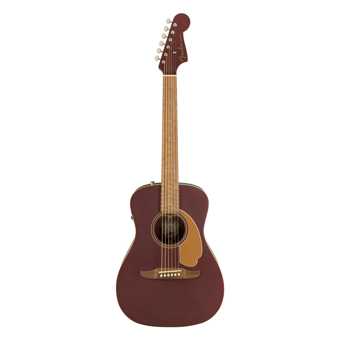 Guitarra Electroacústica Fender California Malibu Player Walnut -Burgundy Satin