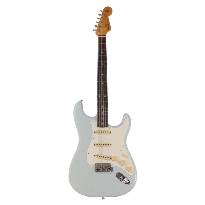 Guitarra Eléctrica Fender Custom Shop 59' Stratocaster Journeyman Closet Classic Super Faded Aged Sonic Blue