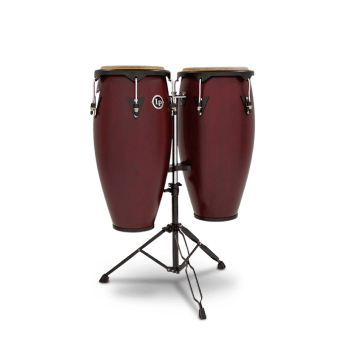 Set Conga Latin Percusion LP646NY-DW Dark Wood