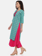 Load image into Gallery viewer, Arana Women's Double Layered Kurta