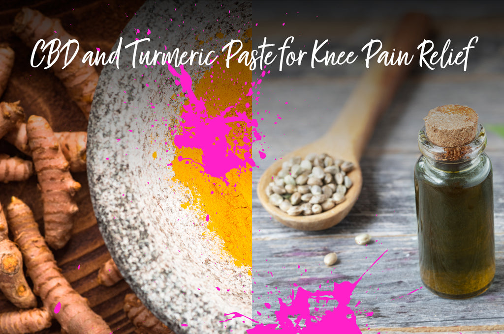 CBD and Turmeric Paste for Knee Pain Relief