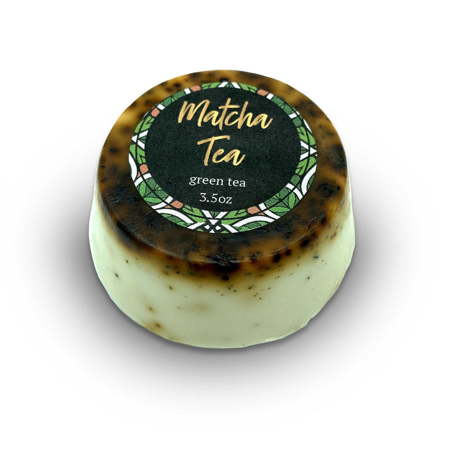 Matcha Tea Face Bar For Aging Skin Types