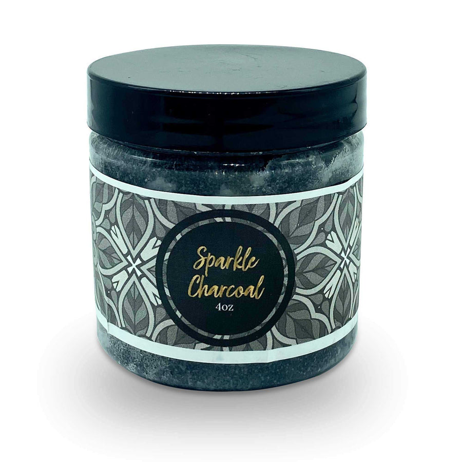 Sparkle Charcoal Face Scrub For Normal Skin | Fancy UR Body