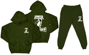 "Hypnotize Minds ""Sweat Suit"" Olive Green"