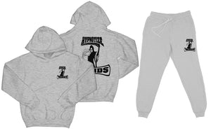 "Hypnotize Minds ""Sweat Suit"" Heather Grey"