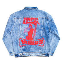 Load image into Gallery viewer, Three 6 Mafia Blue Denim Jacket