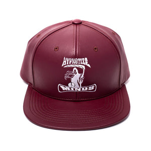 "Hypnotize Minds ""Burgundy Leather"" Snapback"