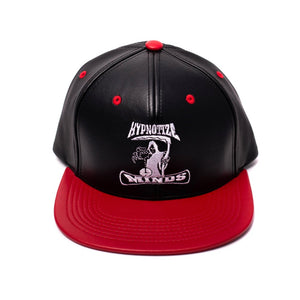 "Hypnotize Minds ""Black/Red Leather"" Snapback"