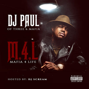 "DJ PAUL ""Mafia 4 Life"" Physical copy"