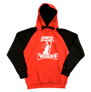 "Hypnotize Minds ""Hoodie"" 2 Tone Red/Black"