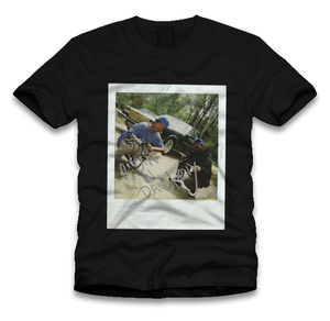 "Ridin N Da Chevy ""Tee"" Black"