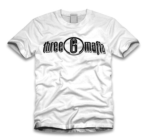 Three 6 Mafia Logo tee