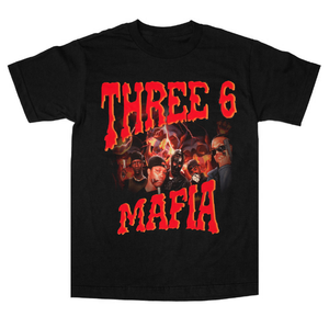 "Three 6 Mafia ""Yo Rep"" tee"