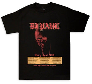 "DJ Paul ""Fury Fest"" Tour Tee"