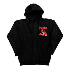 "Load image into Gallery viewer, Mystic Stylez ""Zip Up Hoodie"" Black"